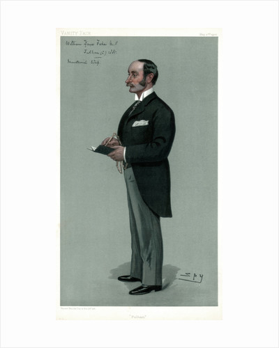 'Fulham', William Hayes Fisher, British politician by Spy