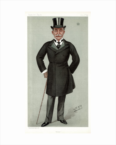 'Horace', Lord Farquhar, British financier and politician by Spy