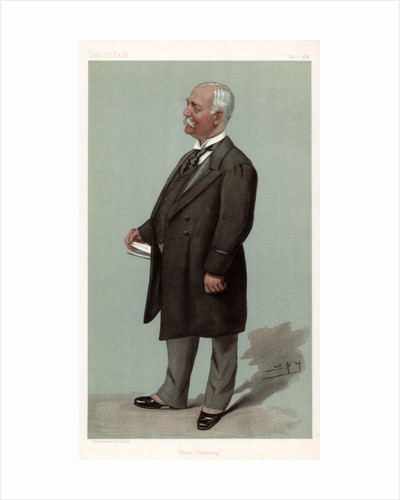 'Union Steamship' Sir Francis Henry Evans, British businessman and politician by Spy