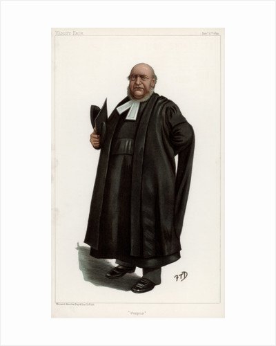 'Corpus', the Reverend Thomas Fowler, Vice-Chancellor of Oxford University by FTD