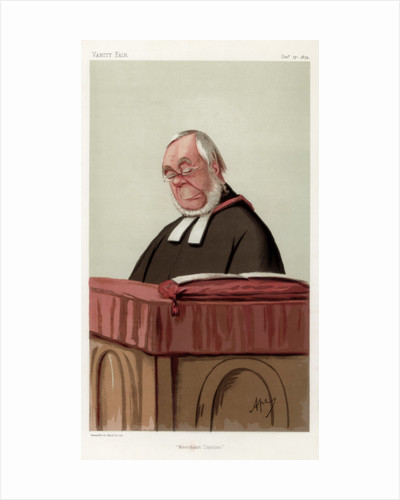 'Merchant Taylors', the Reverend James Augustus Hessey DCL by Carlo Pellegrini
