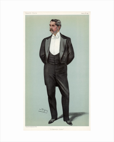 'A Diplomatic Cousin' Henry White, American diplomat by Spy