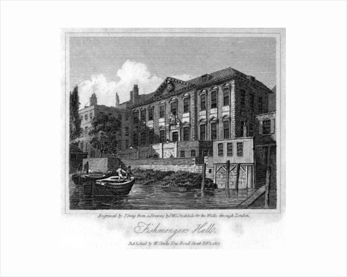 Fishmongers' Hall, City of London by J Greig