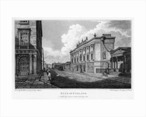 Bank of England, City of London by A Warren