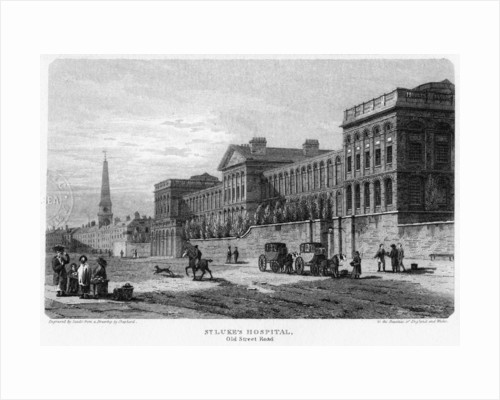 St Luke's Hospital, Old Street, Finsbury, London by Sands