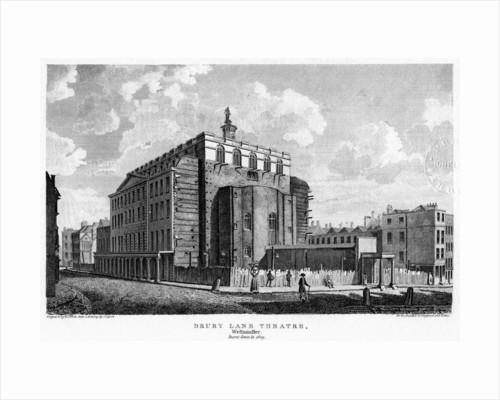 Drury Lane Theatre, Westminster, London by William Johnstone White