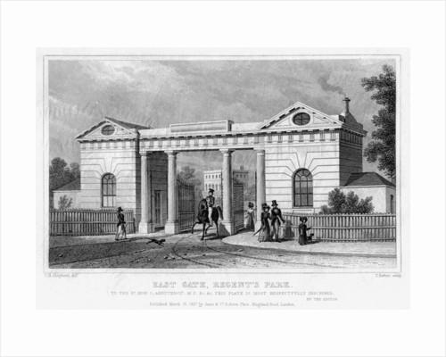 East Gate, Regent's Park, London by Thomas Barber