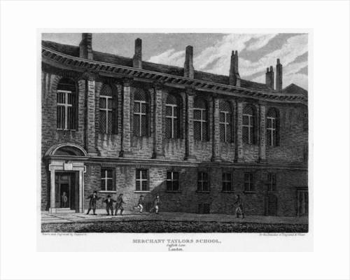 Merchant Taylors School, Suffolk Lane, City of London by Sheppard