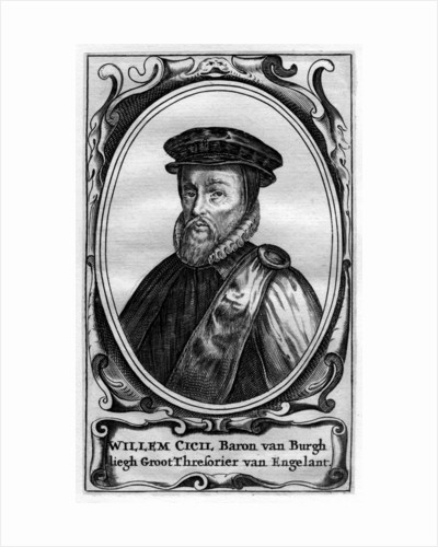 Willem Cecil, 1st Baron Burghley, 16th century English statesman by Anonymous