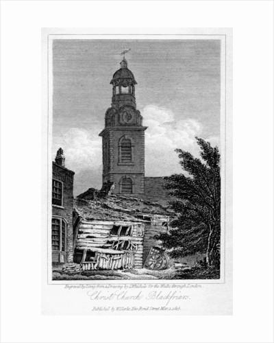 Christ Church, Blackfriars, Southwark, London by J Greig