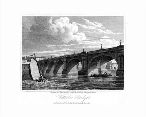 Waterloo Bridge, London by J Greig