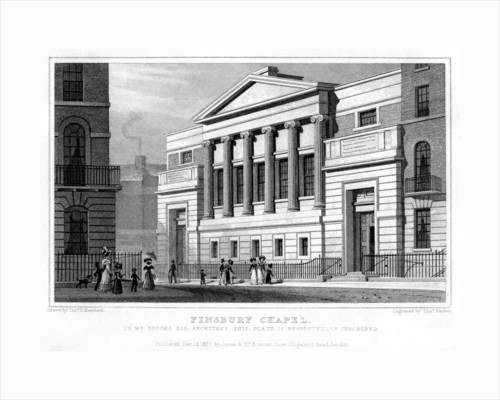 Finsbury Chapel, Islington, London by Thomas Barber