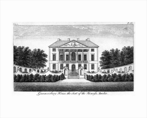 Gunnersbury House, the Seat of Princess Amelia by Anonymous