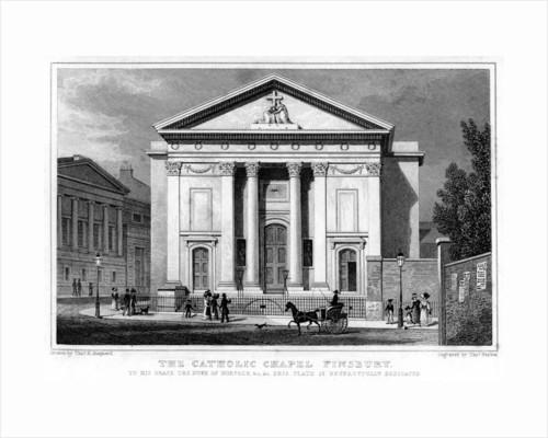 The Catholic Chapel, Finsbury, London by Thomas Barber