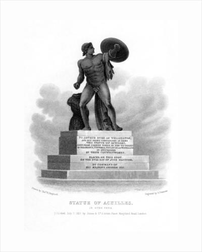 Statue of Achilles, Hyde Park, London by S Freeman