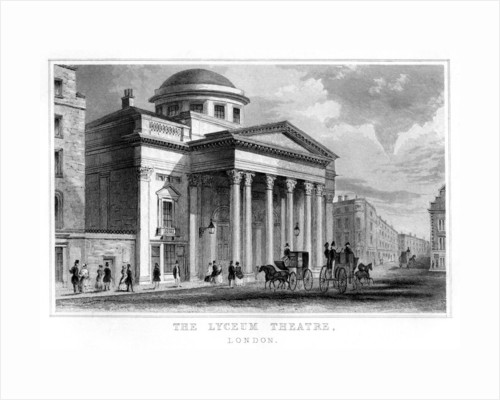The Lyceum Theatre, Westminster, London by Anonymous