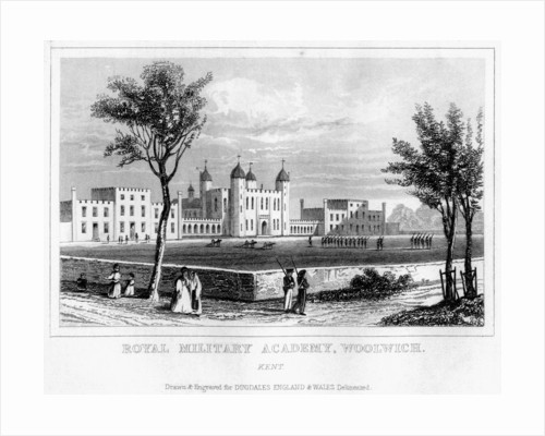 Royal Military Academy, Woolwich, London by Anonymous