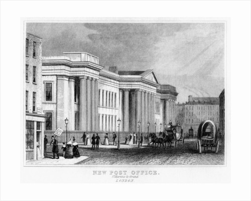 New Post Office, St Martin's le Grand, City of London by Anonymous