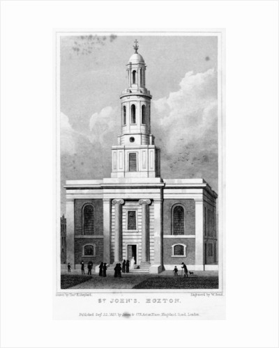 St John's Church, Hoxton, Hackney, London by W Bond