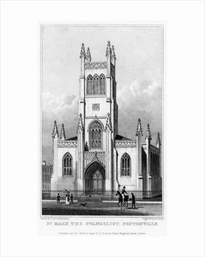 Church of St Mark the Evangelist, Pentonville, Islington, London by S Lacey
