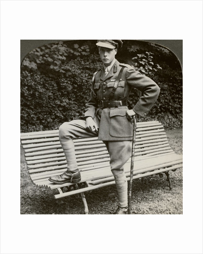 The Prince of Wales in military uniform, France, World War I by Realistic Travels Publishers