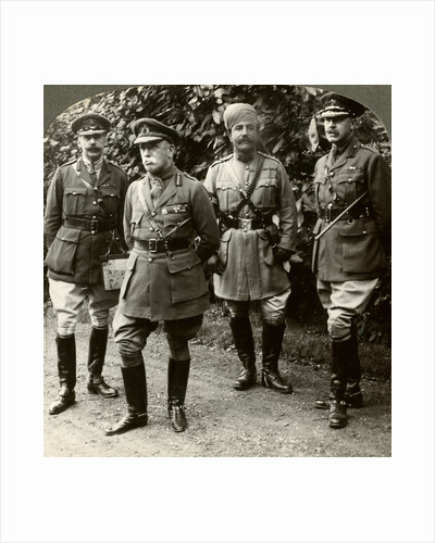 Sir John French, Commander-in-Chief of the BEF, France, World War I by Realistic Travels Publishers