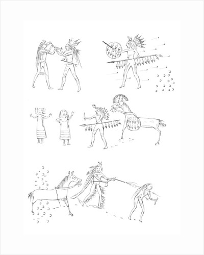 Exploits of 'Four Bears', Native American warrior by Myers and Co