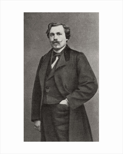 Edmond de Goncourt, French author by Anonymous
