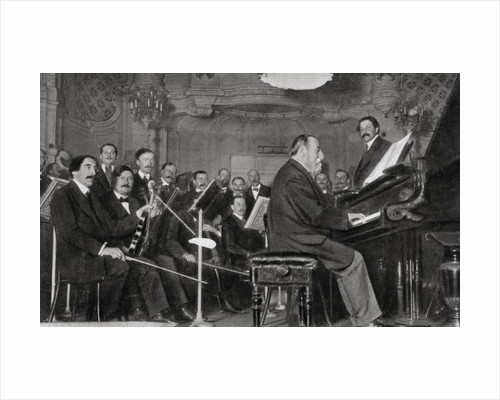 Camille Saint-Saens, French composer, musician and conductor by Anonymous