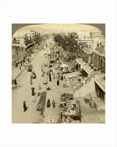 Jauhri Bazaar, Jeypore, Orissa, India by Underwood & Underwood