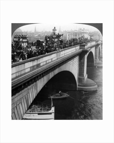 London Bridge, London by Underwood & Underwood