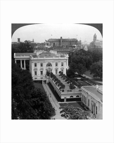 The White House, Washington DC, USA by Underwood & Underwood