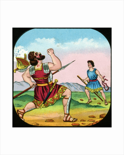 David Killing Goliath by Anonymous