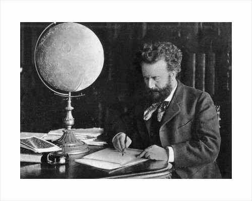 Camille Flammarion, French astronomer and author by Anonymous