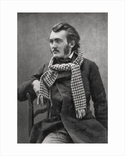 Gustave Dore, French artist, engraver and illustrator by Anonymous