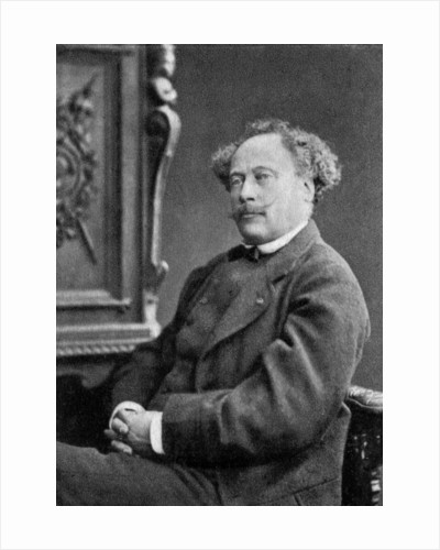 Alexandre Dumas the Younger, French playwright and novelist by Anonymous