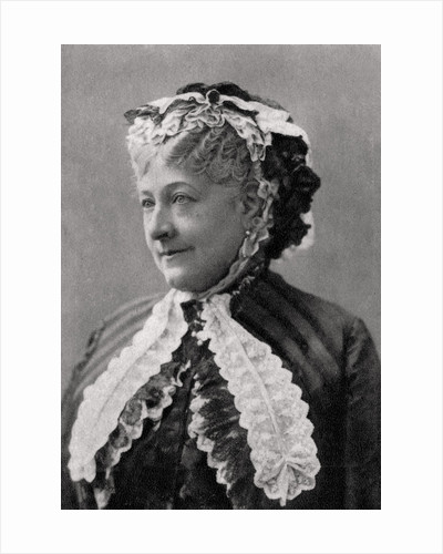 Ethelie Madeleine Brohan, French actress by Anonymous