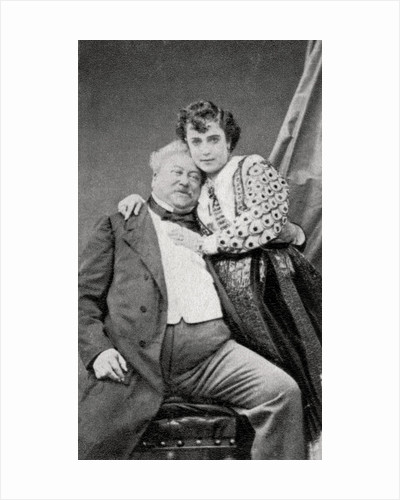 Alexandre Dumas, the Elder, French novelist and playwright by Anonymous