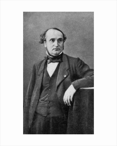 Francois Clement Sauvage, French engineer and politician by Anonymous