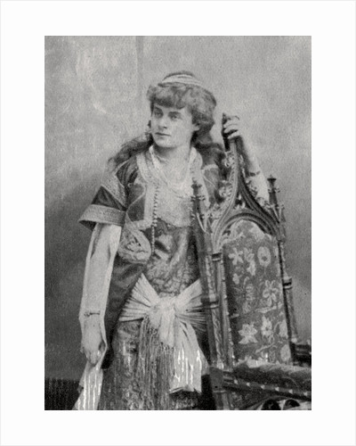 Julie Feyghine, French actress by Anonymous