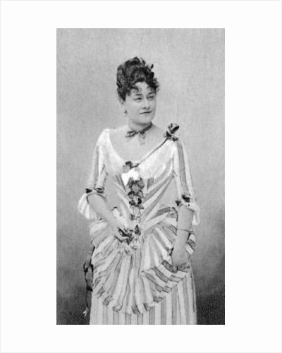 Marie Grisier Montbazon, French mezzo-soprano and actress by Anonymous