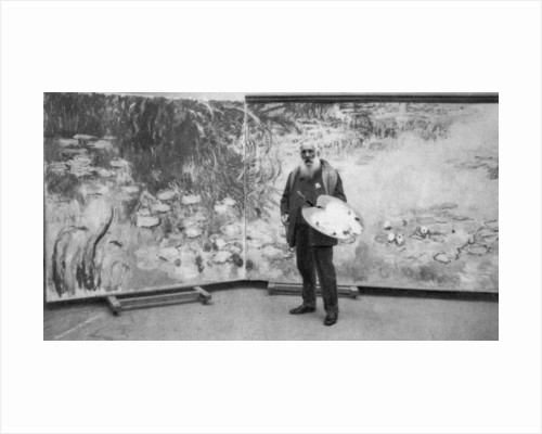 Claude Monet, French Impressionist painter by Anonymous