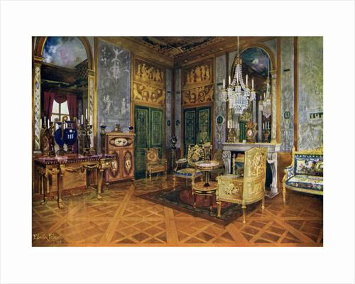 Salon de Musique of Marie Antoinette, Chambre a Coucher, Palais de Fontainebleau, France by Edwin Foley