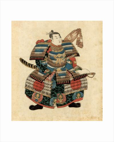 Japanese warlord Minamoto no Yoritomo by Utagawa Kuniyoshi