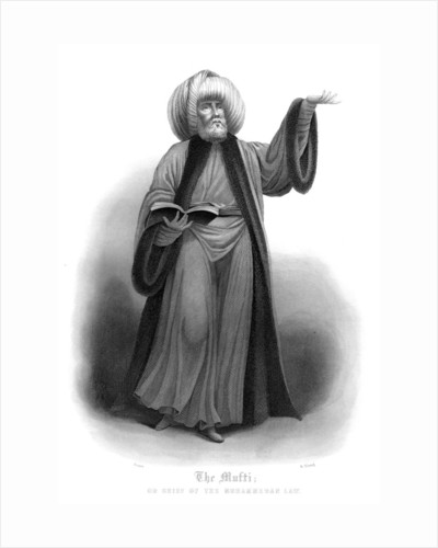 The Mufti, Chief of Mohammedan Law by James Gardner