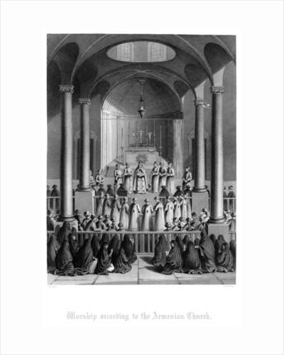 Worship According to the Armenian Church by T Brown