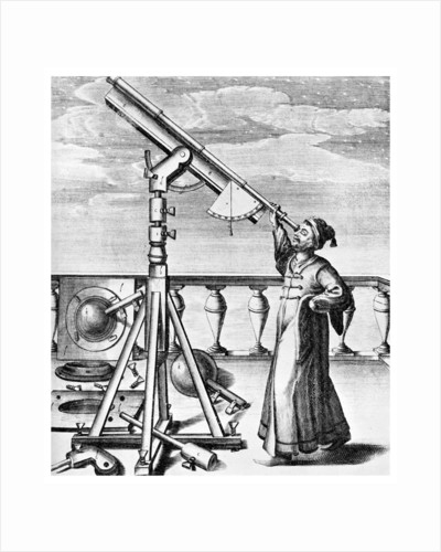 Telescope from Selenographia by Anonymous