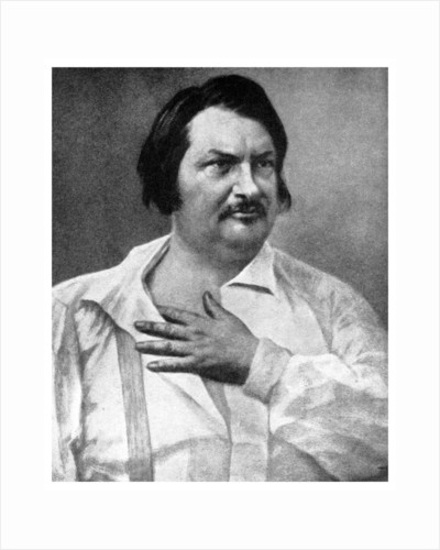 Honore de Balzac, French novelist by Anonymous