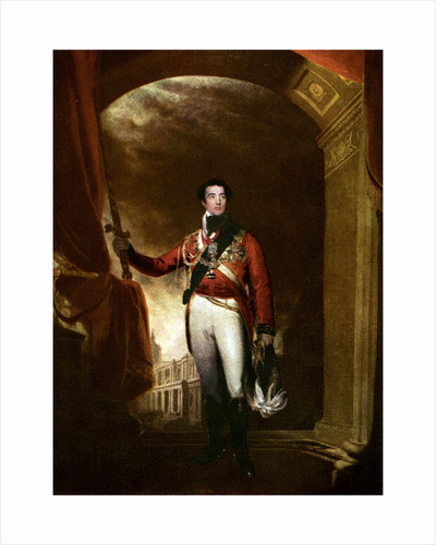 The Duke of Wellington, Irish-born British soldier and statesman by Anonymous