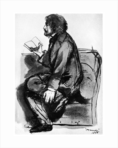 Alfred, Lord Tennyson, British poet by Anonymous